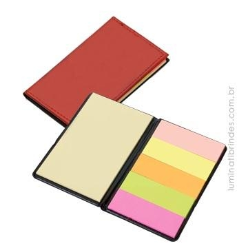 Bloco Post It Leather Color