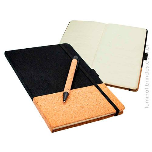 Caderno Cork Executivo