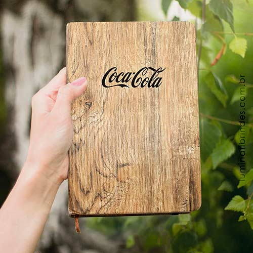Caderno Wood para Brinde