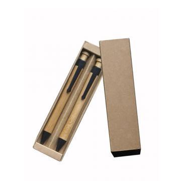 Kit NATURAL BAMBOO caneta e lapiseira