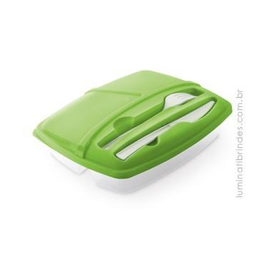 Food Box Personalizada com talheres