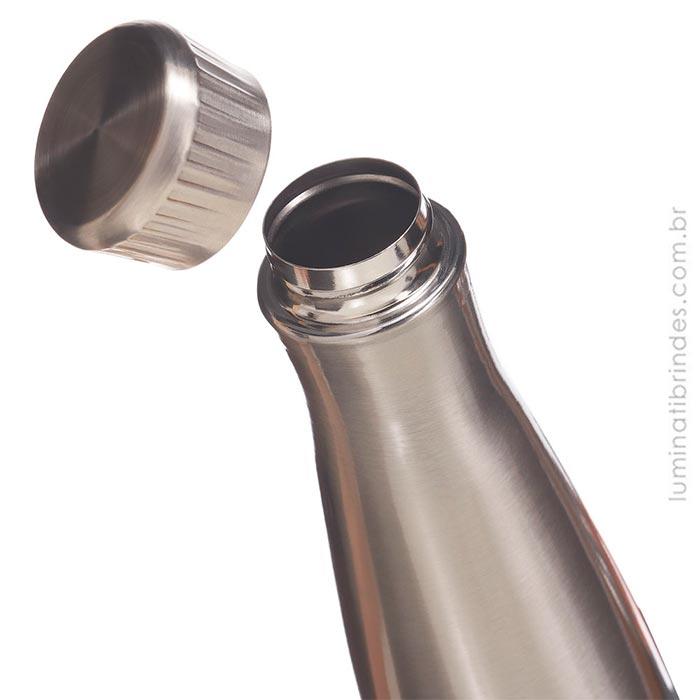 Squeeze para brinde inoxidável Spirit