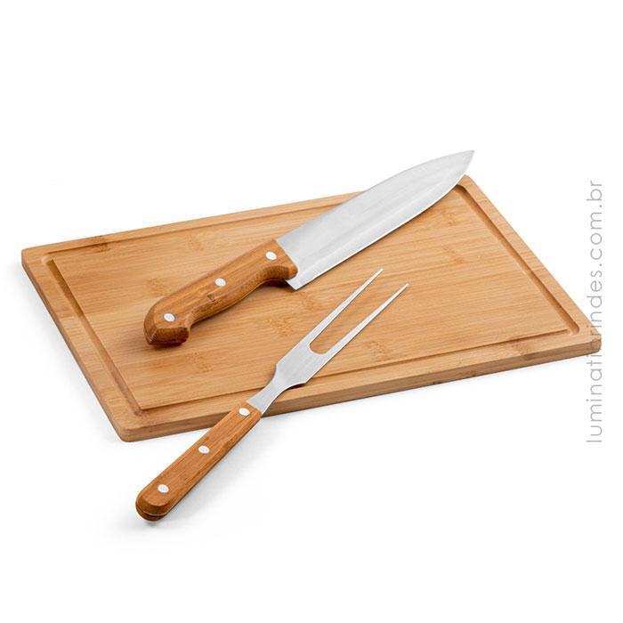 Kit churrasco Bamboo
