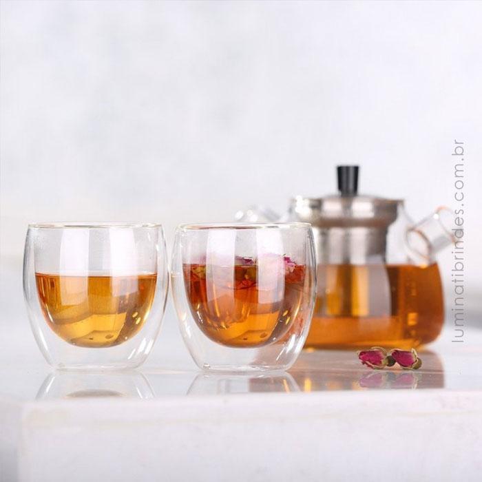 Conjunto Double Coffee Gourmet