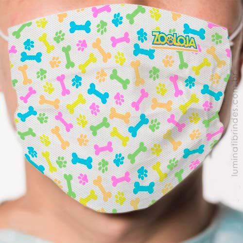 Máscara Facial Descartável para Brinde
