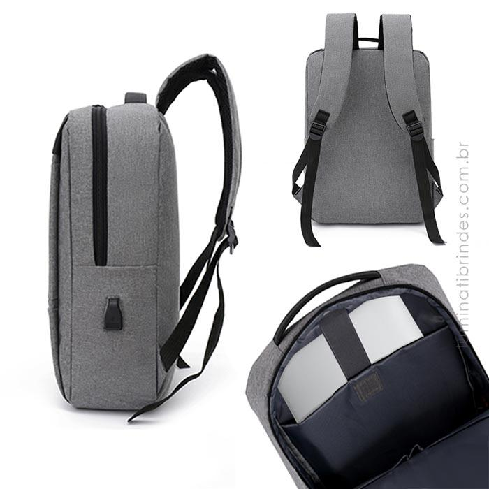Mochila Note Duo Corporativa USB