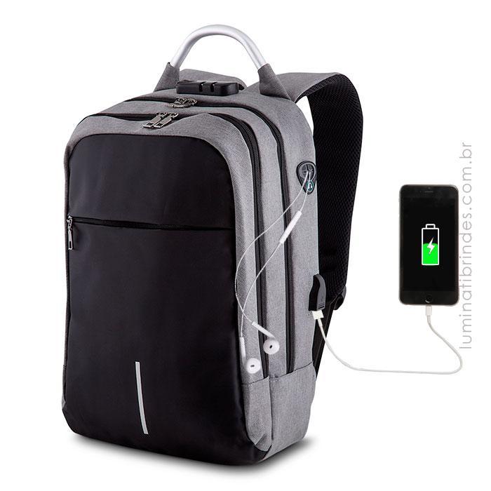 Mochila GO USB Personalizada