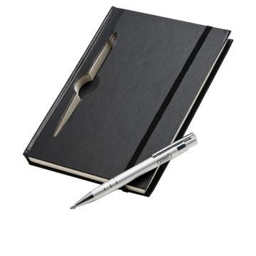 Caderneta Moleskine com caneta WIN New