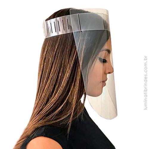 Máscara Faceshield de Proteção Brinde