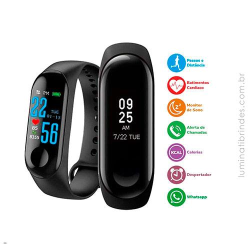 Relógio Digital Smartwatch Fit